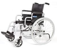 Кресло-коляска инвалидная облегченная алюминиевая складная, ширина сиденья 45 см (LY-710-011)