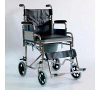 Кресло-коляска Оптим FS909-46 с санит. оснащением