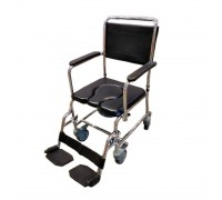 Кресло-каталка Титан LY-800-154-A (45см) с туалетным устройством