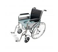 Кресло-каталка СИМС Barry W5 (46 см) с санитарным устройством