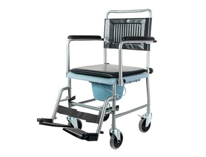 Кресло-каталка Симс 5019W2P с санитарным оснащением