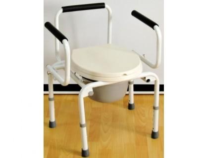 Кресло-туалет Оптим FS813 без колес