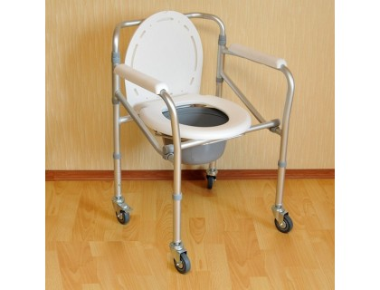 Стул-туалет Мега-Оптим PR 8005 W / FS 696