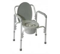 Кресло-туалет Amrus AMCB93 облегченное со спинкой (6804)