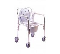 """Кресло-туалет для инвалидов со съемным санитарным устройством серии """"Akkord"""" Титан (LY-2003)"""