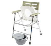 Кресло-туалет Симс WC XXL с регул. высоты, складное