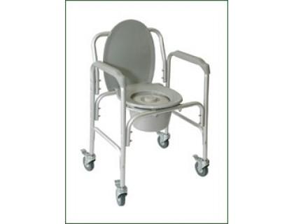 Кресло-туалет Amrus AMCB6809 на колесах