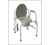 Кресло-туалет Amrus AMCB6807 с опускающимися подлокотниками