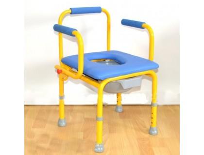 Кресло-туалет детское Оптим FS813 без колес