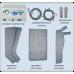 Аппарат прессотерапии и лимфодренажа Power-Q3700
