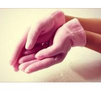 Увлажняющие перчатки с гелевой пропиткой SWEETY GESS-055