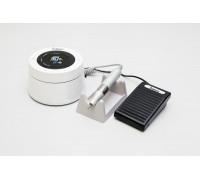 Аппарат для маникюра и педикюра Saeshin Brillian White (с педалью в коробке)
