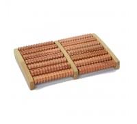 Массажер деревянный для ног 6В