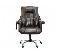 Офисное массажное кресло EGO PRIME EG1005 модификации PRESIDENT LUX цвет Мокко