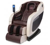 Массажное кресло VictoryFit VF-M10 коричневый/бежевый