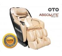 Массажное кресло OTO Absolute AB-02 Шампань (натуральная кожа)