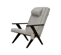 Массажное кресло EGO Bounty EG-3001 СЕРЫЙ (Рогожка)