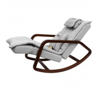 Массажное кресло-качалка OTO Grand Life OT2007 СЕРЫЙ (Рогожка)