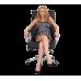 Офисное массажное кресло US Medica Chicago бежевое
