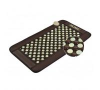 Турмалино-нефритовый тепловой коврик с турмалиновым браслетом Planta PL-MAT1 GEMSTONE