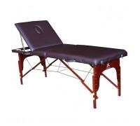 Массажный стол DFC NIRVANA, Relax Pro,  дерев. ножки, цвет коричневый TS3022_B1