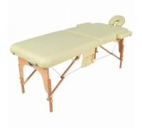Стол массажный переносной с деревянной рамой ММ JF-AY01 2-х секционный (разные цвета)