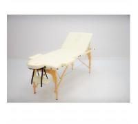 Массажный стол (15204) Comfort (MET Coinfy STANDART 02) 2-секц, ultra ligh алюминий, кремовый
