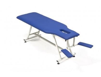 Стол массажный стационарный Coinfy FIX-MT1 (МСТ-38) белый, кремовый, синий