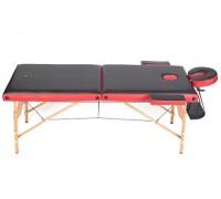 Массажный стол двухсекционный деревянный Casada W-2-13 (CMK-402)
