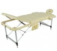 Стол массажный переносной 3-х секционный алюминиевый Мед-Мос JFAL01A (МСТ-102Л) (разные цвета)