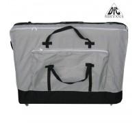 Сумка для массажного стола, на колесиках TS1008 cерый с черным