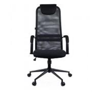 Кресло Everprof EP 705 ткань + сетка цвет черный (EP-705 black)