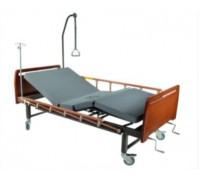 Кровать с механическим приводом Belberg 8-16 (2 функции, с туалетным устройством) ДЕРЕВО