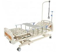 Кровать Belberg 31-26H с ростоматом ПЛАСТИК (столик в комплекте)