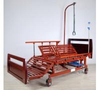 Кровать с механ.приводом Belberg 45A-1524H, 5 функц. туал.устр. ВЕНГЕ (без матраса)