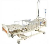 Кровать с электроприводом Belberg 6-66АH с ростоматом ПЛАСТИК (выдвижное ложе)
