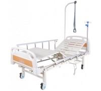 Кровать с электроприводом Belberg 7-2018Н-00 (7-77H), 2 функц. ПЛАСТИК (без матраса+столик)