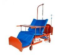 Кровать с механическим приводом Belberg 45A-152H с туалетным устройством ЛДСП