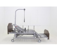 Кровать электрическая Мед-Мос DB-11А (МЕ-5228Н-00) ЛДСП Венге, 5 функций (без матраса+столик)