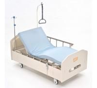 Кровать MET ARCTIC (14717),(ложе 193*90см) с низким осн. ЛДСП,  элект. Привод (цв. выб.дуб)