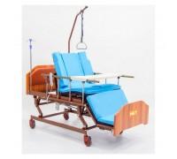 Кровать MET REALTA (15520), (201*97) электропривод. с функц.,кардиокресло, с туал. (стандартный и противопролежневый матрас)