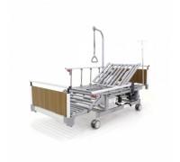 Кровать электрическая Мед-Мос DB-11А (МЕ-5248Н-01) алюм. ЛДСП, 5 функц (столик)