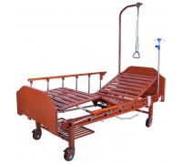 Кровать с электроприводом Belberg 7-2028Д-00, (7-077Н), (светлое дерево), 2 функц. (без матраса +столик)