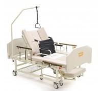 Кровать МЕТ INTEGRA (14147),(ложе195*100см) механич. привод,с т/у, с кресло-каталкой, с матрасом.