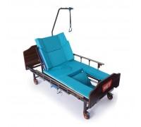 Кровать механич. MET REKARDO (16180) с боковым переворотом, функцией кресла и туал/устр (с матрасом)