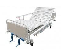 Кровать медицинская функциональная КМ-05 (3-секционная) HILFE с боковыми ограждениями