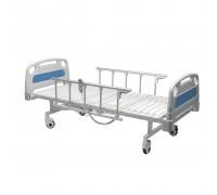 Кровать медицинская функциональная КМ-07 (3-секционная) HILFE с электроприводом и боковыми огражден