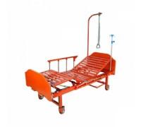 Кровать c механ. приводом 8-2024Д-00 (8-118H), (18H), 2фун.ЛДСП (без матраса). коричн.