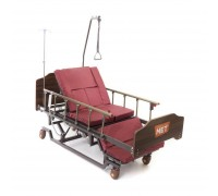 """Кровать электр. MET REALTA (4640) с """"ушками"""" для сна в положении сидя (со встроенным АКБ и матрасом)"""