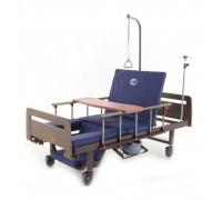 Кровать механич. Мед-Мос YG-6 (MM-2624H-04) ЛДСП Венге с матрасом